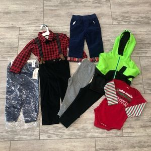 Boys 18 month clothing lot 4/B/18